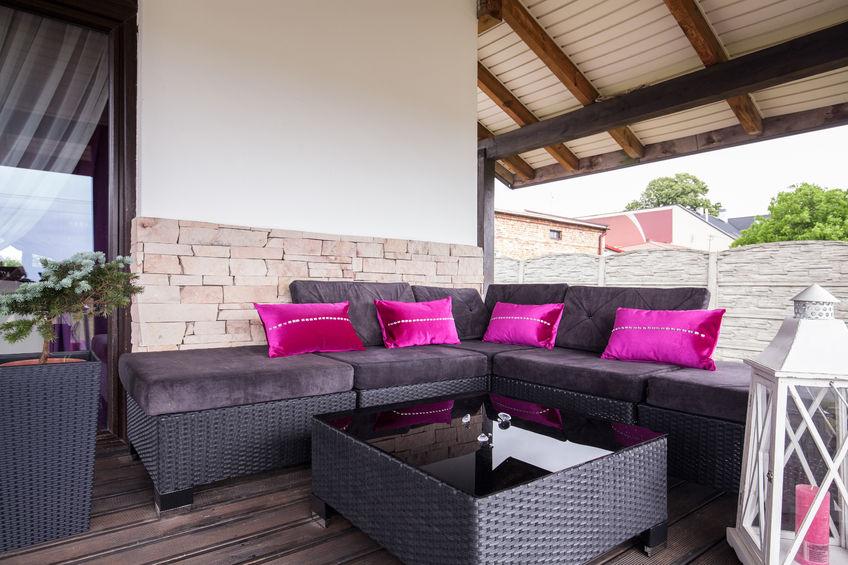 Rattanmöbel Sitzgruppe für Outdoor (Polyrattan)