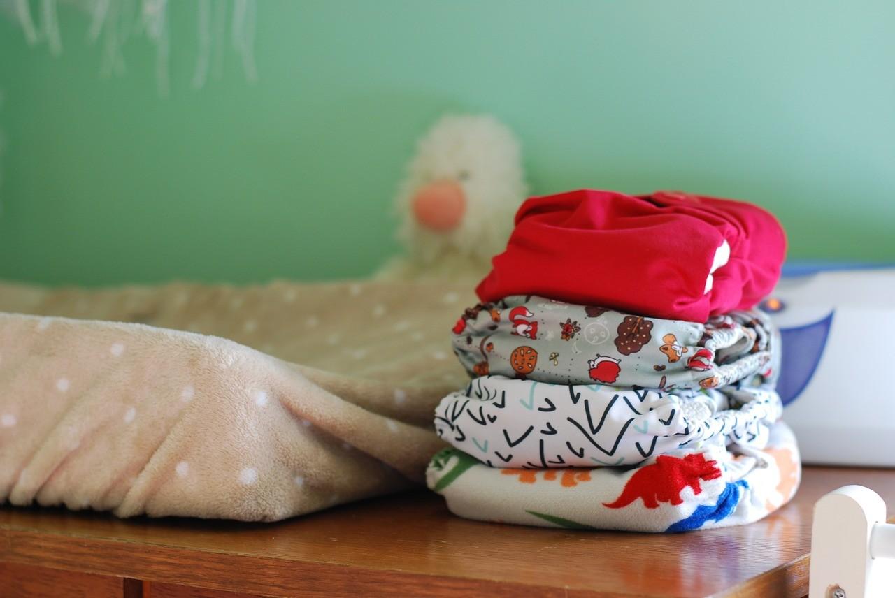 Wickeltasche: sauberes Baby unterwegs
