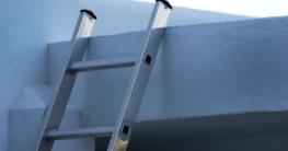 Aluminumleiter Test