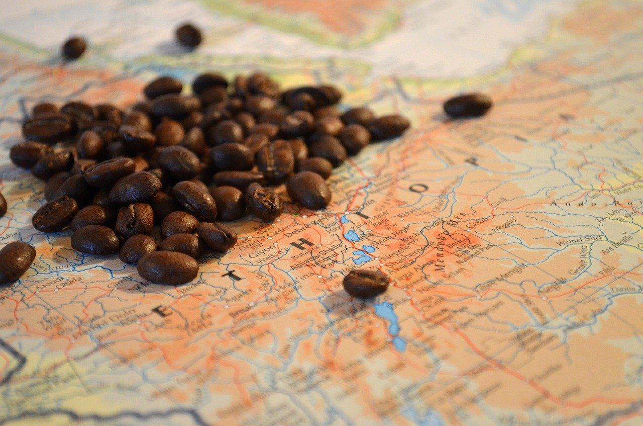 Der Ursprung des Kaffees liegt in Äthiopien.