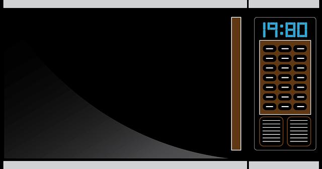 Mikrowelle mit Grill und Backofen