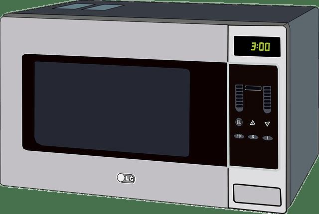 Mikrowelle mit Grill zum Pizza machen