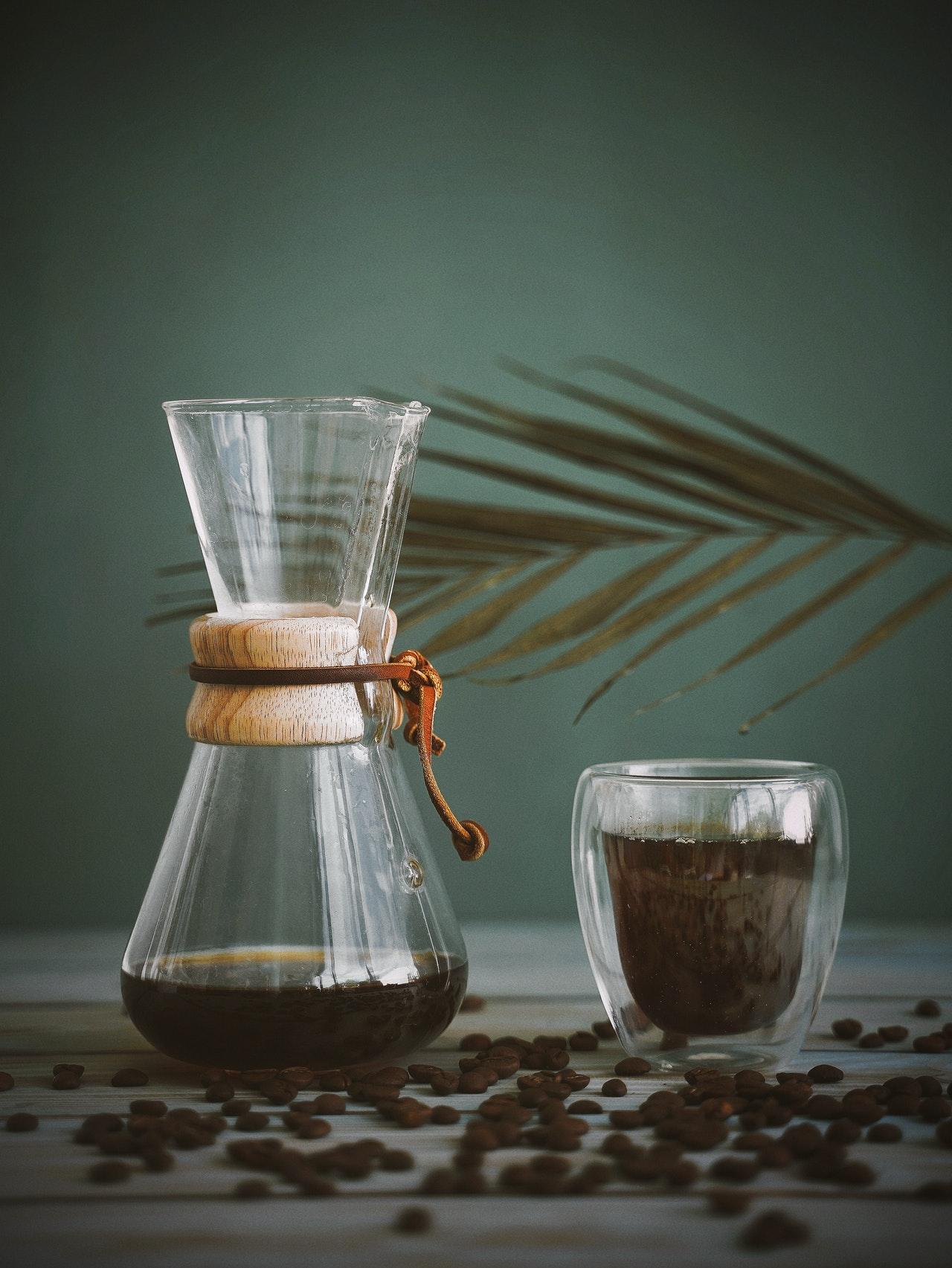 Der Aufbau eines Pour Over Kaffeebereiters ist denkbar einfach.