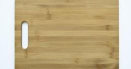 Bambus Schneidbrett Test