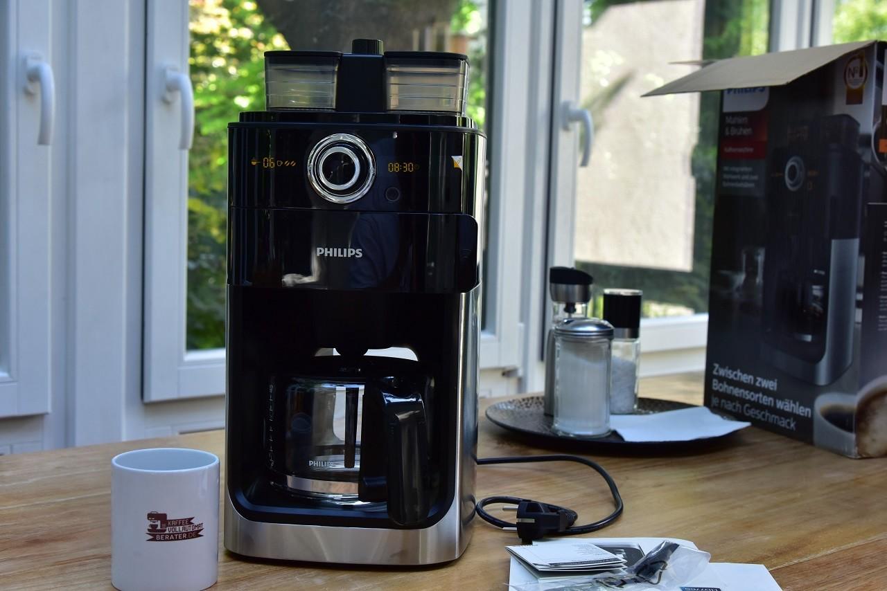 Kaffeemaschine mit Mahlwerk Test