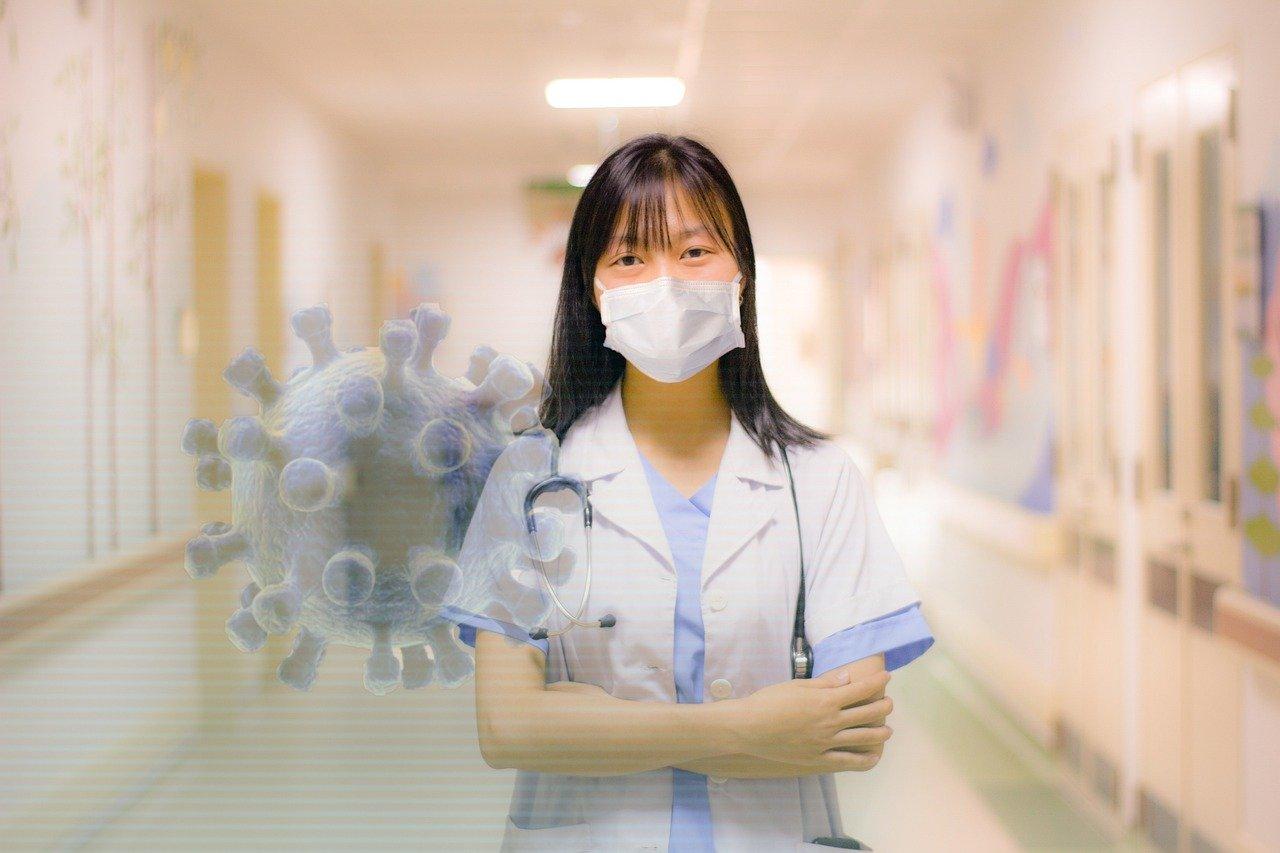 Luftreiniger gegen Virus-Maske