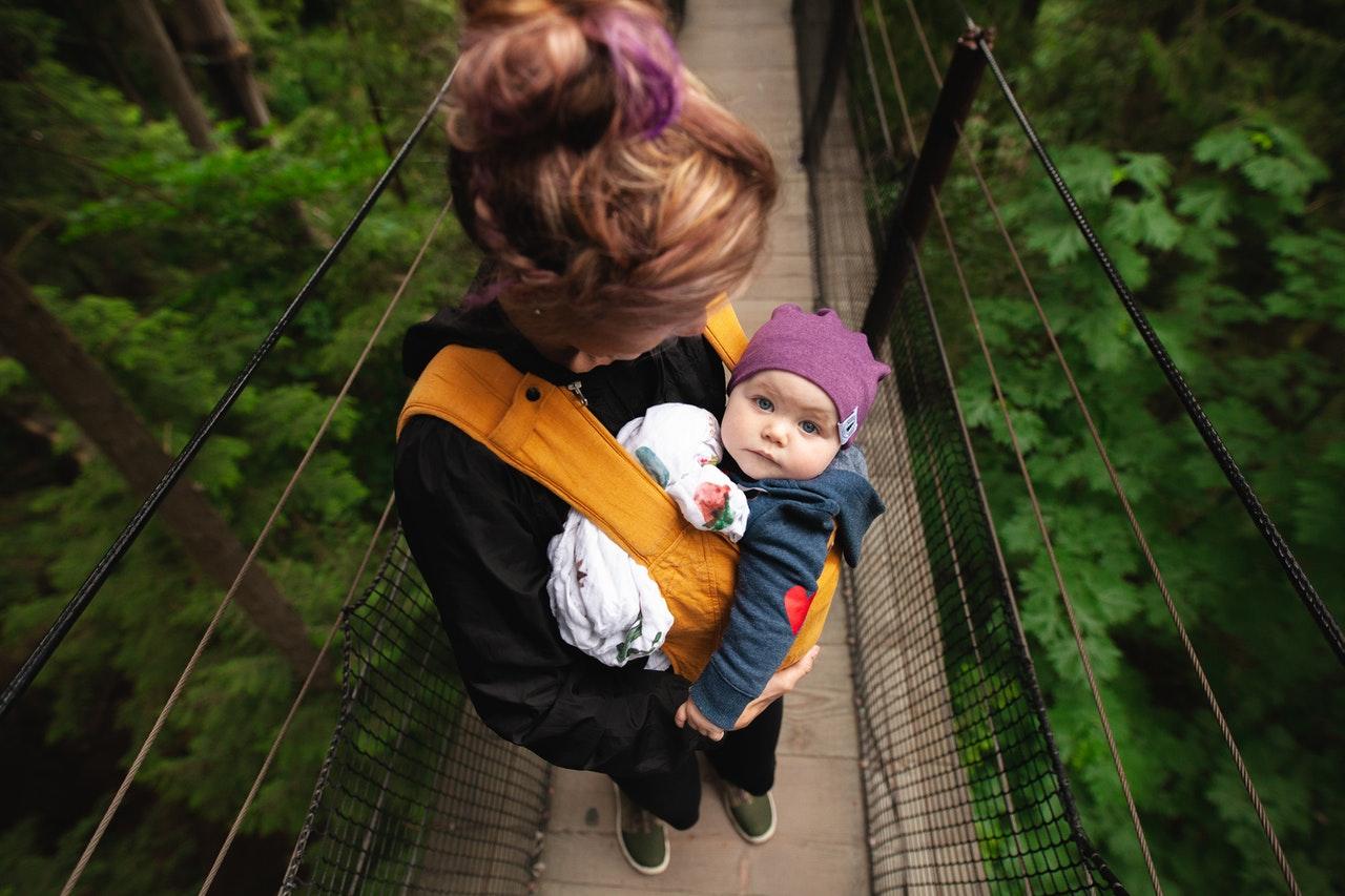 Babytrage Babytragetuch Test