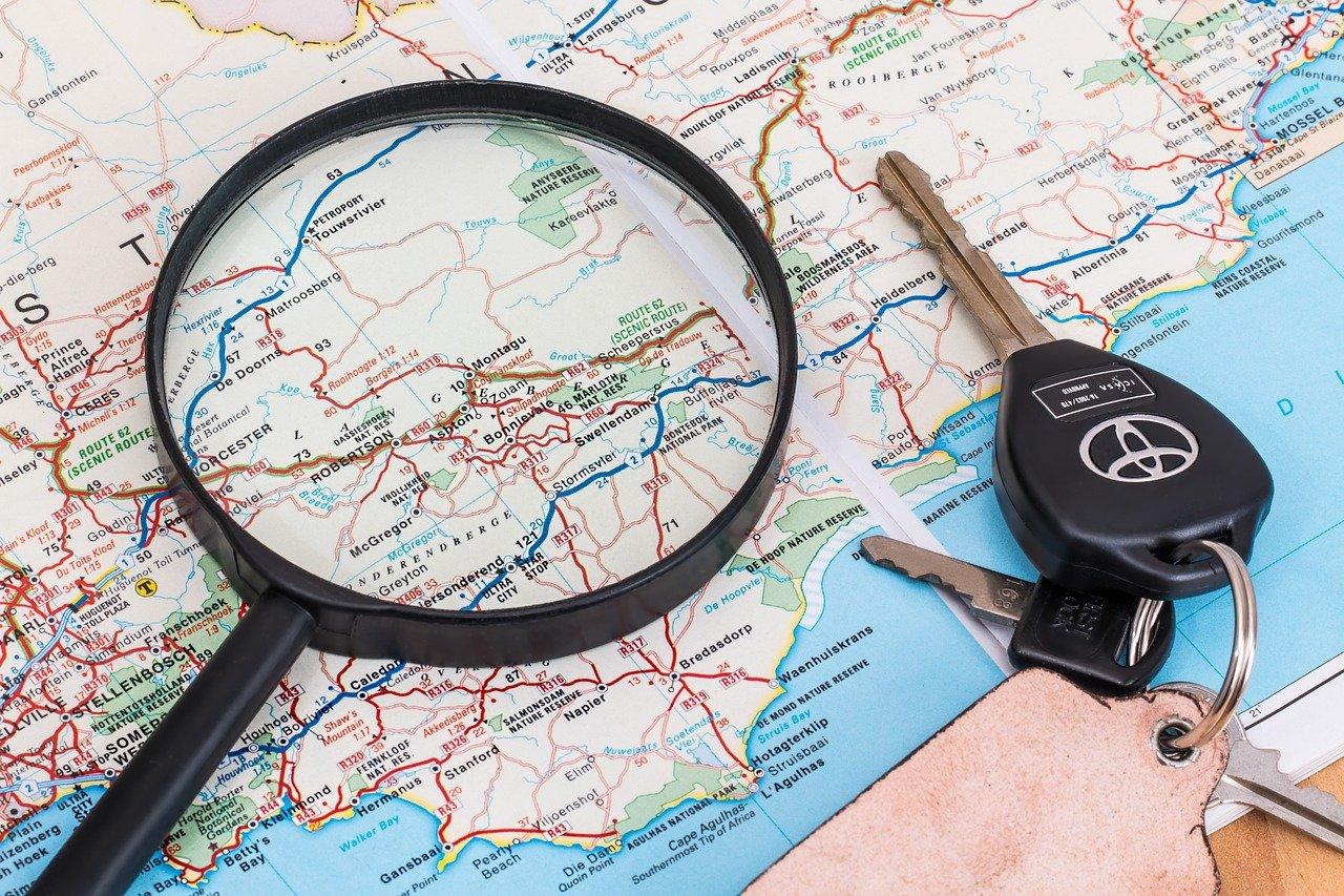 Mit einem GPS Schlüsselfinder kannst Du Deine Schlüssel weltweit orten.