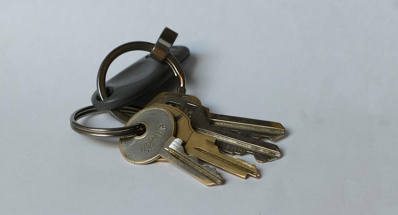 Schlüsselfinder Test