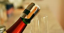 Sektflaschenverschluss Test