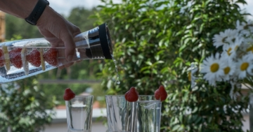 Wasserkaraffe Test