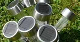 Outdoor-Solarleuchte Test