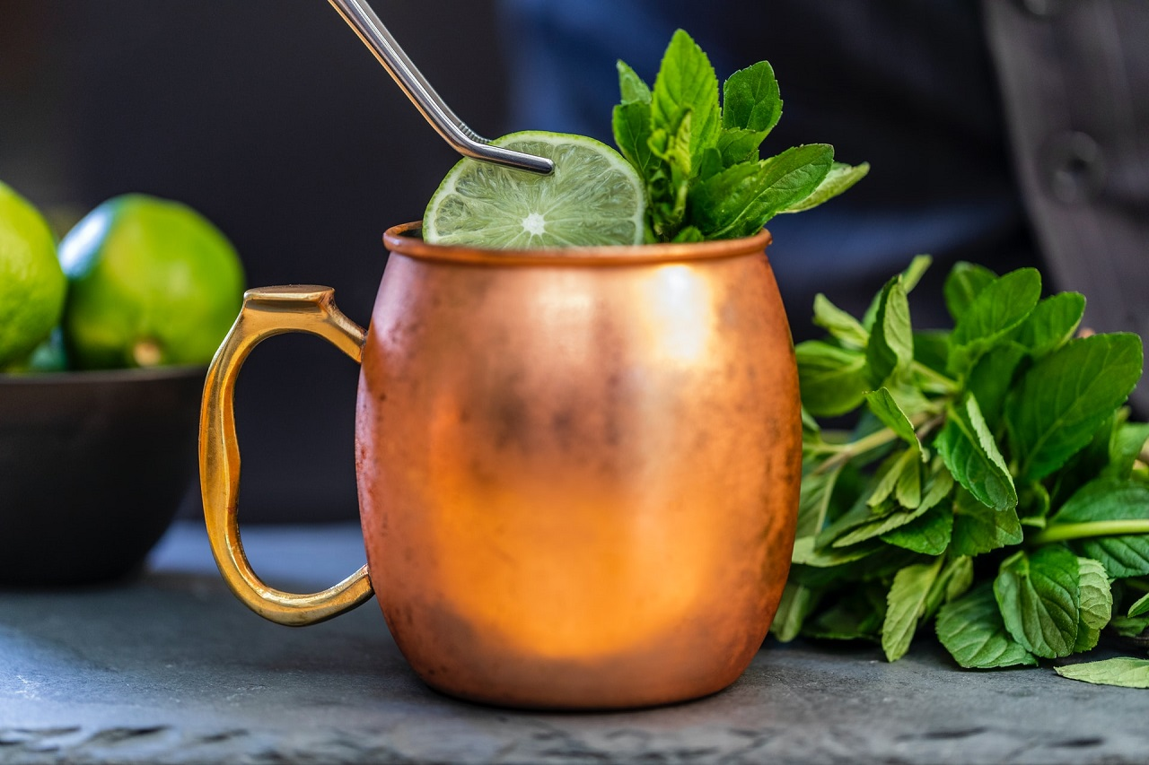 Moscow Mule Becher Test