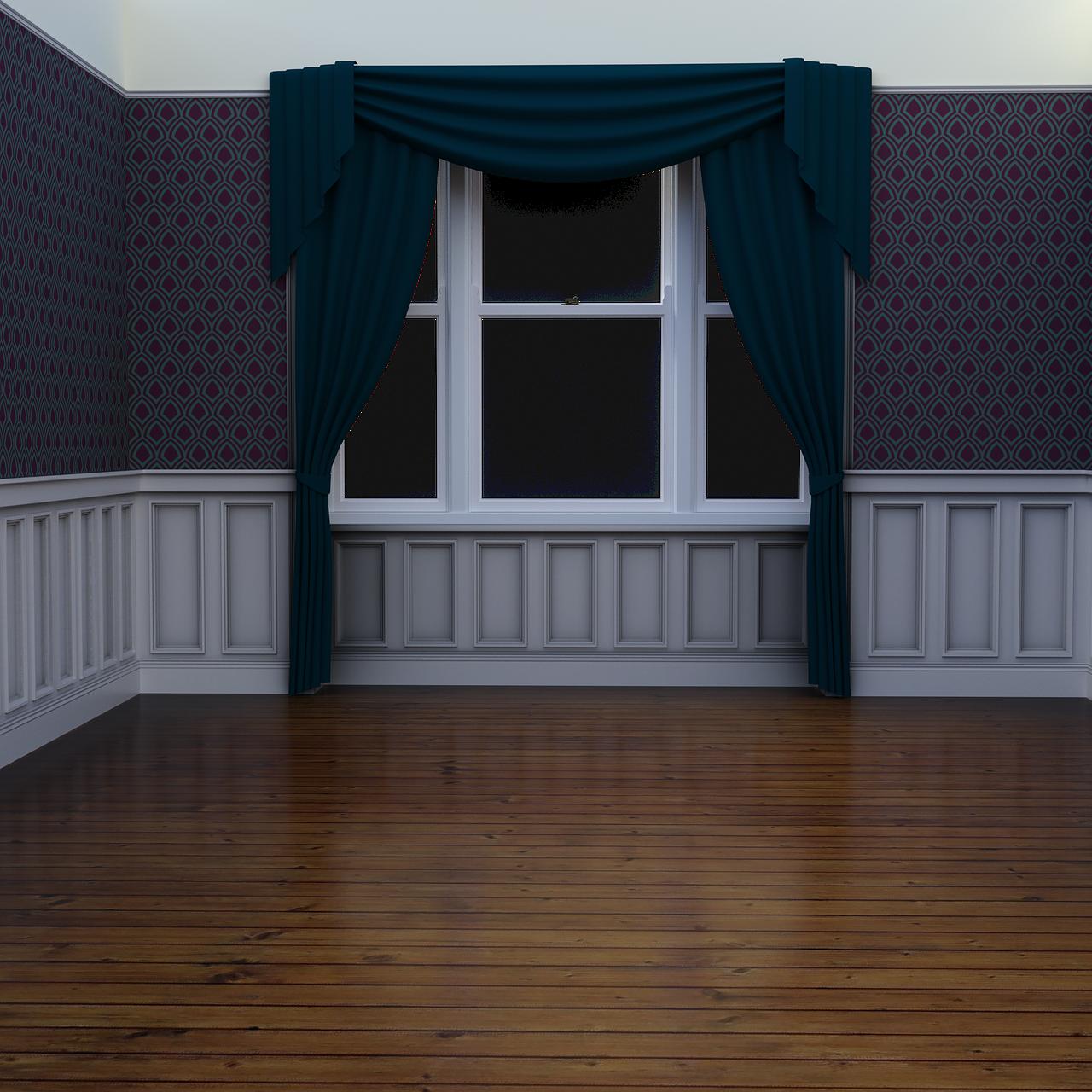 Querbehänge bekommst Du in unterschiedlichen Längen und Breiten, damit sie genau zu Deinen Fenstern passen.