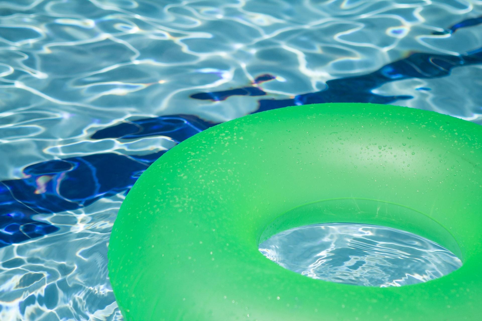 Swimmingpool fuer den Garten