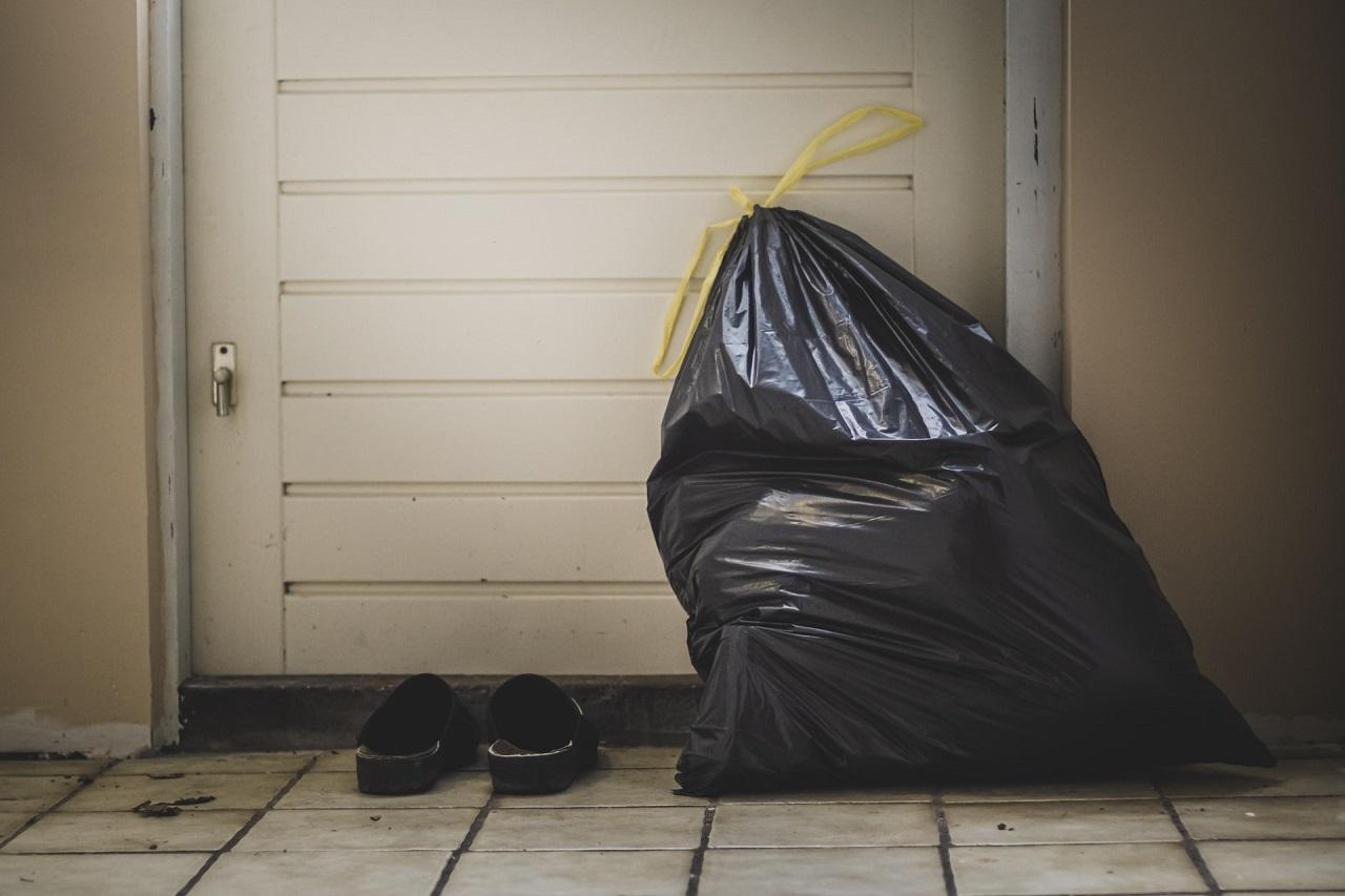 Müllsackständer Test